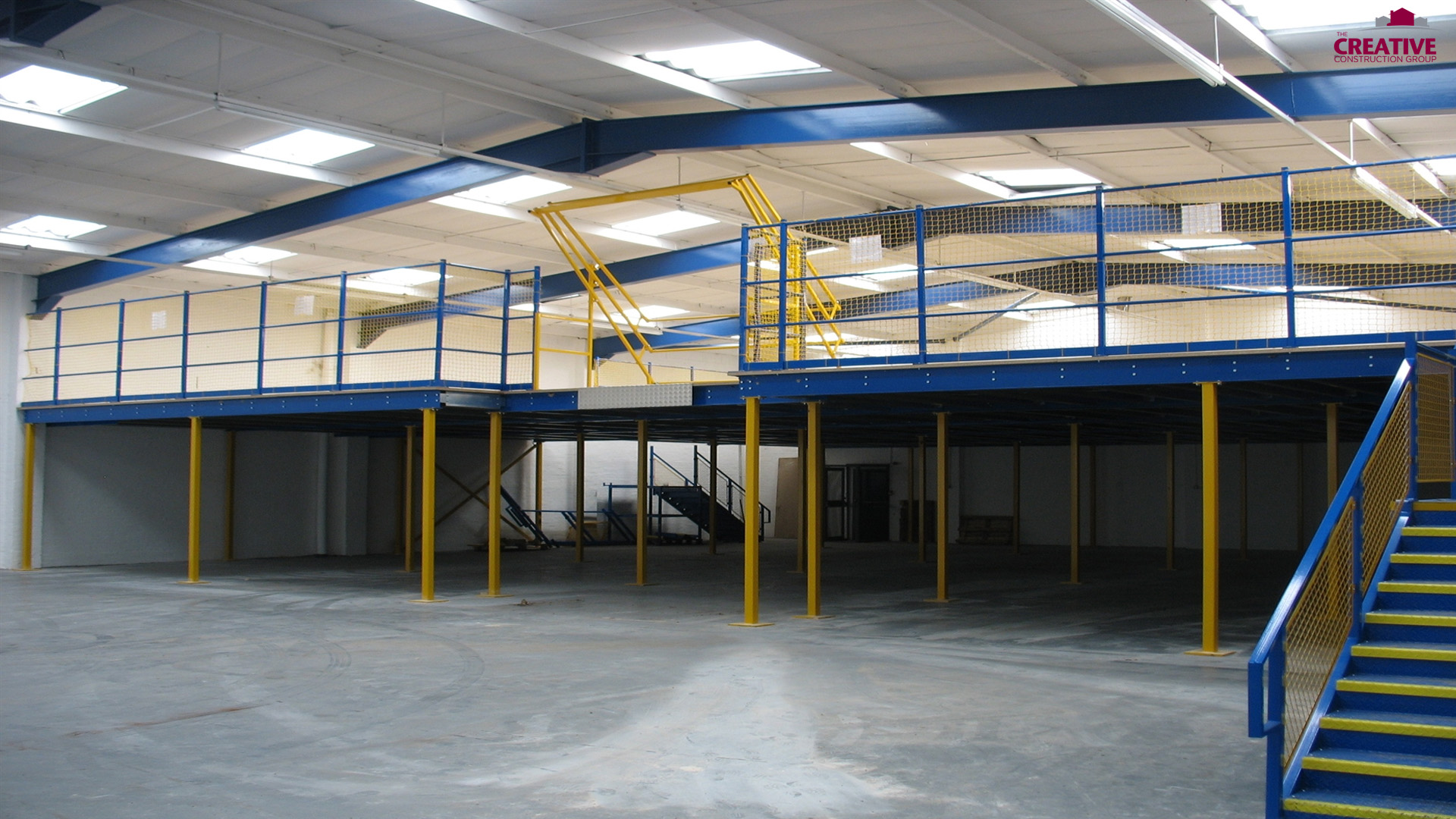 Mezzanine Floor - The Creative Construction Group